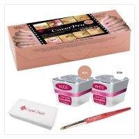 Coverpro Crystalac Starter Kit - Nude