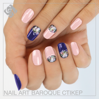 NAIL ART BAROQUE СТІКЕР