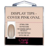 Display Tips - Cover Pink Oval