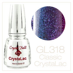 GL318 Black Diamond CrystaLac (гель лак) - 15ml