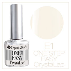 ONE STEP EASY CrystaLac (гель - лак) #1SE1 (8ml)