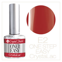ONE STEP EASY CrystaLac (гель - лак) #1SE2 (8ml)