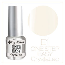 ONE STEP EASY CrystaLac (гель - лак) #1SE1 (4ml)