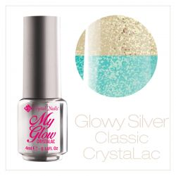 My Glow CrystaLac - Glowy Silver 4ml