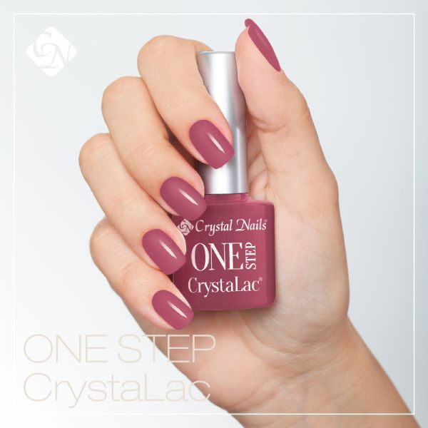 ONE STEP CrystaLac (гель - лак) #1S54 (8ml)